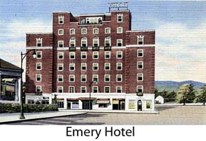 The History Of Emery Hotel Bradford